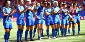 Le Azzurre rientrano in Italia, nuovo boom di ascolti. Bertolini: 'Questo Mondiale un punto di partenza'