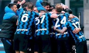 Serie A, l'Inter vince ancora e vede lo scudetto