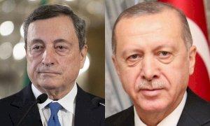 Erdogan risponde a Draghi: