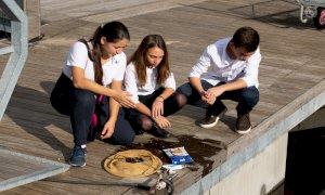 Cestino mangia plastica nel mare: al via la campagna