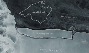 Antartide: si è staccato l'iceberg più grande al mondo