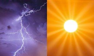 Meteo della settimana, Italia divisa in due: maltempo al Nord, estate al Sud