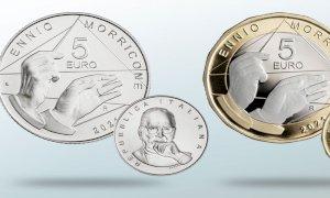 La Zecca conia una moneta dedicata a Ennio Morricone