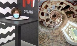 Milano, apre il Museo delle Illusioni dove puoi correre, urlare e scattare selfie