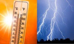 Meteo della settimana, Italia divisa tra afa e rischio forti temporali