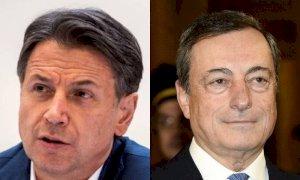 Conte, la prima uscita come leader dei 5 Stelle e il confronto con Draghi