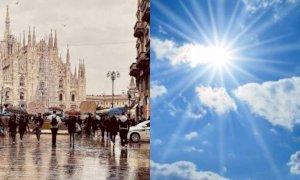 Meteo della settimana, allerta arancione in Lombardia: soleggiato il Sud