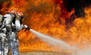 Sicilia, vasto incendio ad Erice: la situazione