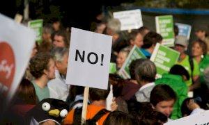 Le manifestazioni No Green Pass, non erano autorizzate, indagano le autorità