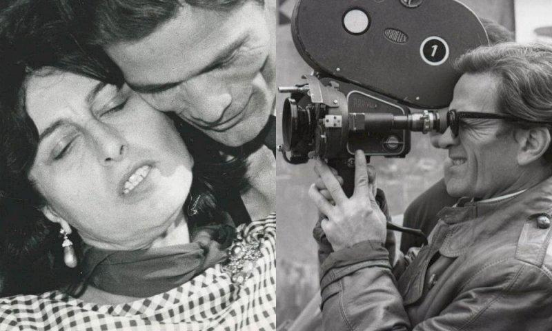 Anna Magnani e Pier Paolo Pasolini (Fonte: Instagram)