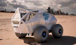 Spiagge pulite, arriva il robot che raccoglie i mozziconi di sigaretta