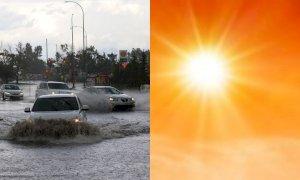 Meteo della settimana, Italia tra temporali e temperature record