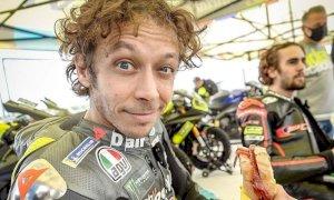 L'addio di valentino Rossi alla Moto Gp: