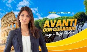 Roma: la sindaca Virginia Raggi promette lotta ai rifiuti