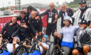 Paralimpiadi, l'Italia arriva a 50 medaglie, gli atleti azzurri battono tutti i record