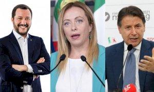 Salvini-Meloni, il Reddito di Cittadinanza è stato un errore, la risposta di Conte