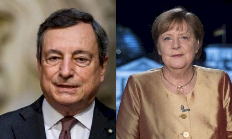 Draghi, rafforzare i rapporti con la Germania per un'Europa più unita e integrata