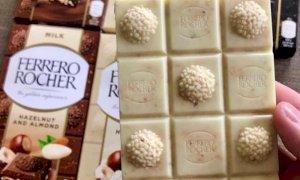 Il Ferrero Rocher diventa tavoletta, ecco i tre gusti al cioccolato