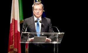 Draghi le promesse del Premier per far ripartire l'Italia