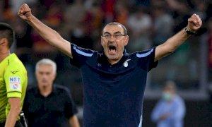 Lazio-Roma, il primo derby della Capitale è il capolavoro di Sarri