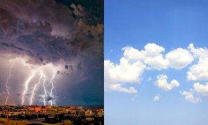 Meteo della settimana, crollano le temperature: tornano i temporali