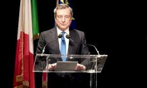 Draghi, l'economia del paese meglio del previsto. C'è fiducia nell'Italia